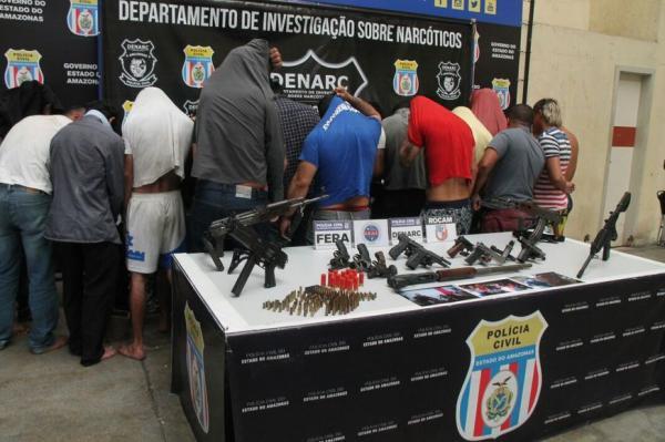 Polícia prende 20 'funcionários' do traficante João Branco antes de ação do grupo