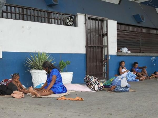 Mais de 140 imigrantes venezuelanos estão em abrigos de Manaus