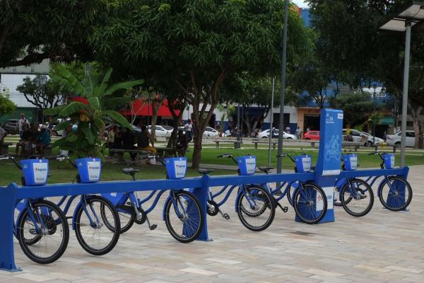 Manôbike ganha mais quatro novas estações com pontos nos terminais de ônibus