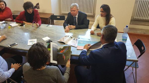 Arthur Neto se reúne com governo italiano para fomentar turismo no Brasil