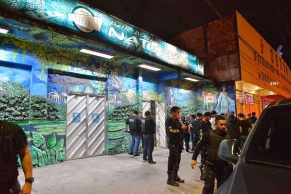 Casa de show é fechada durante operação policial na zona Leste de Manaus