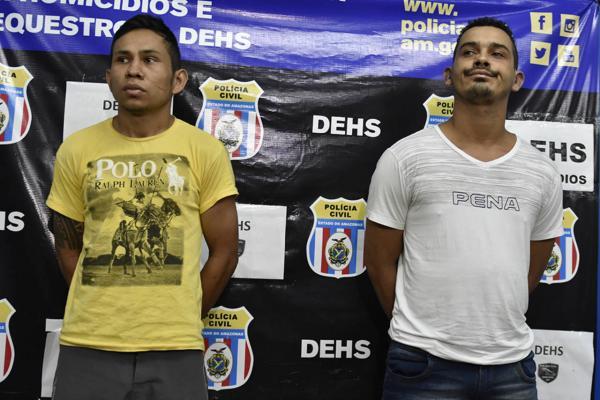 Dupla que decapitou e jogou futebol com a cabeça da vítima é presa em Manaus