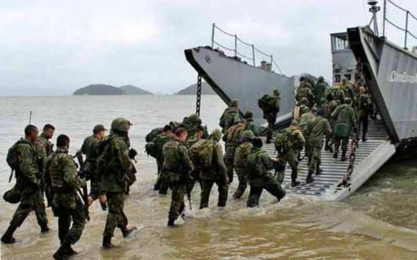 Marinha abre inscrições para 1,3 mil vagas de Fuzileiros Navais nível médio