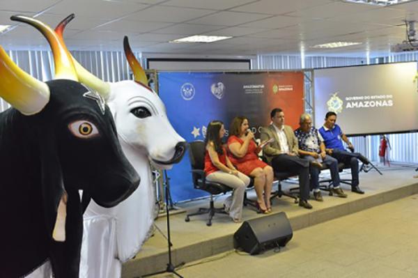 Caprichoso e Garantido unidos para realizar a Temporada de Ensaios em Manaus