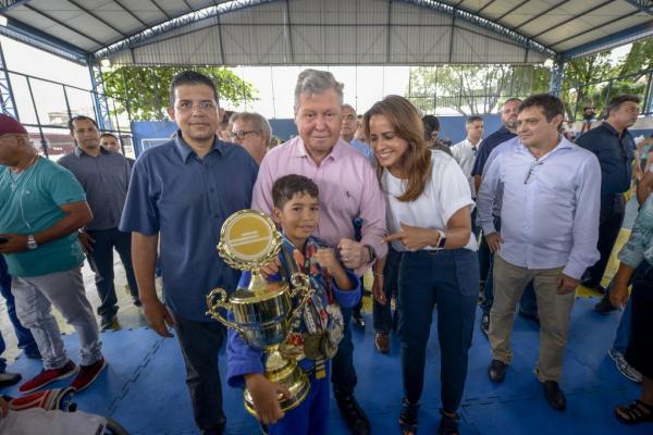 Arthur Neto lança projeto para formar e descobrir novos talentos no esporte