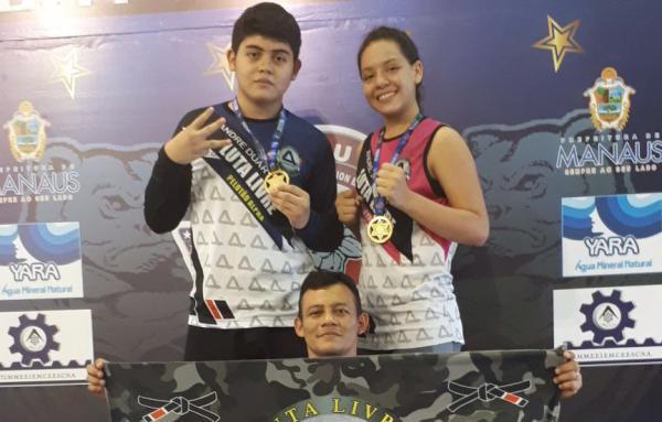 Amazonense conquista o tricampeonato Norte/Nordeste de Luta Livre