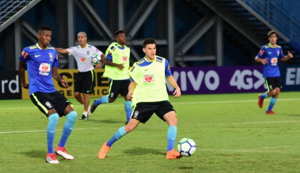 Vendas de ingressos para amistoso da Seleção Brasileira Sub-20 começam terça
