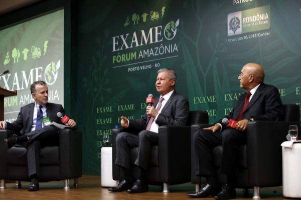 'O verdadeiro desenvolvimento do Brasil virá da Amazônia', defende Arthur Neto em Fórum