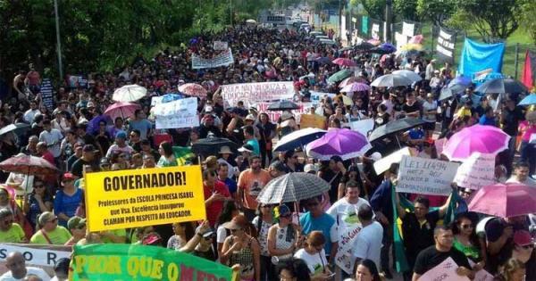 Decisão do TJAM determina suspensão de movimento grevista da educação