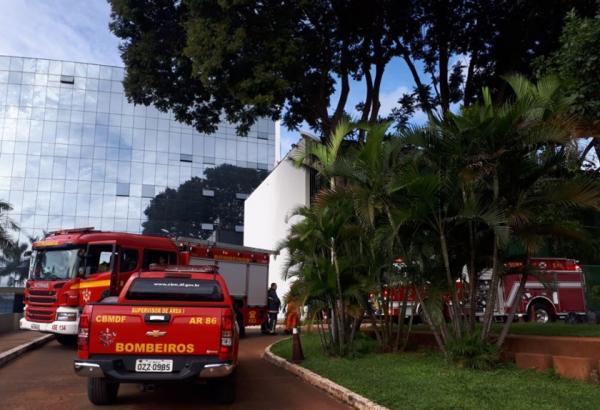 Princípio de incêndio atinge prédio do STF