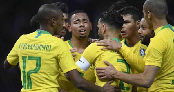 Seleção Brasileira vence a Alemanha por 1 a 0