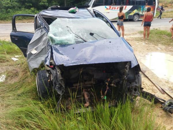 Juíza é suspeita de conduzir S10 envolvida em colisão na AM-010