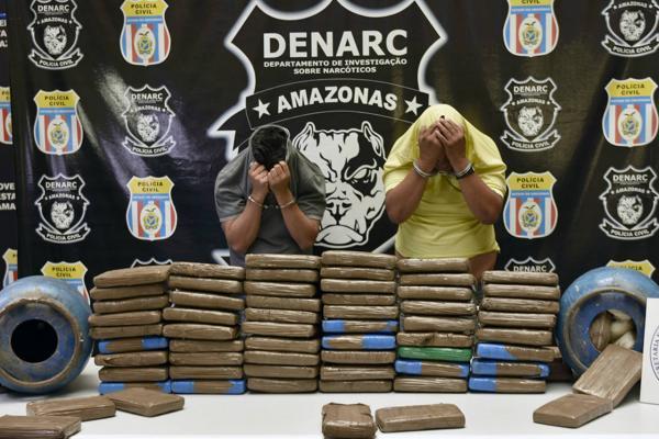 Empresário e taxista são presos com 80kg de cocaína, avaliados em R$ 1,5 milhão