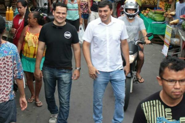 Alberto Neto declara apoio à candidatura de Wilson Lima ao Governo