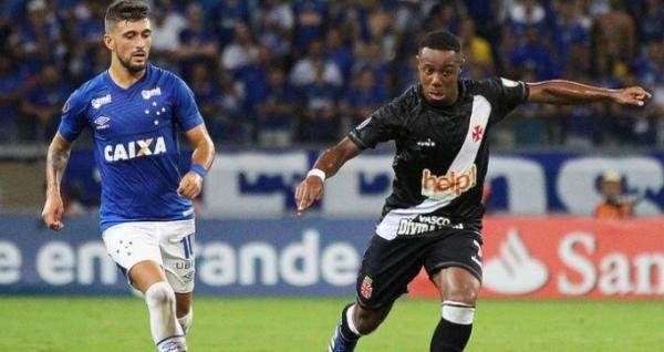 Em jogo com muitos erros, Vasco e Cruzeiro empatam sem gols na Libertadores
