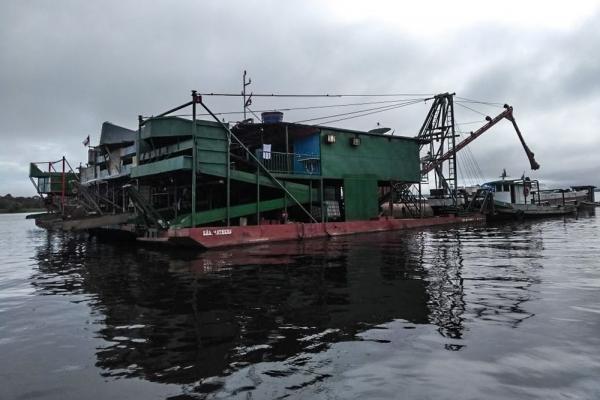 Ibama apreende mais de R$ 8 milhões em equipamentos usados para garimpo ilegal