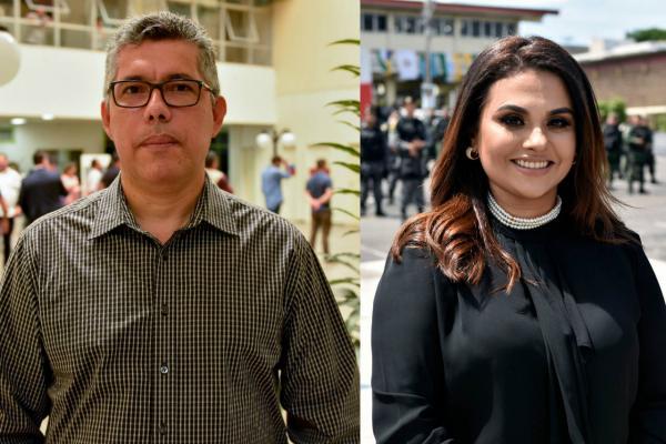 Governador Amazonino Mendes empossa novos titulares da SSP-AM