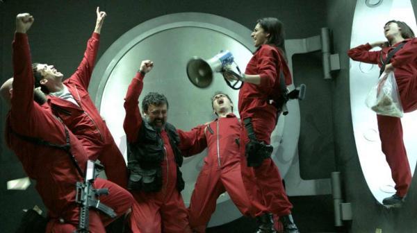 Netflix confirma 3ª parte da série 'La Casa de Papel' para 2019