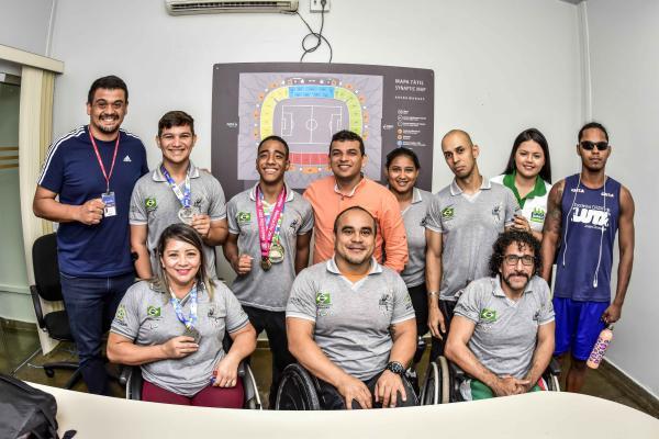 Com direito a quebra de recorde, paratletas amazonenses conquistam quatro medalhas na 2ª Fase Nacional de Halterofilismo