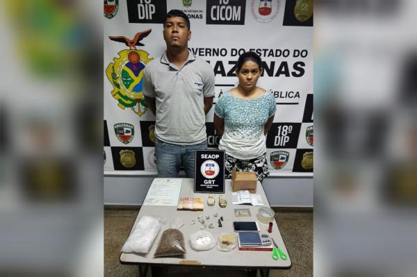 Casal do crime é preso suspeito de tráfico de drogas no Viver Melhor 2