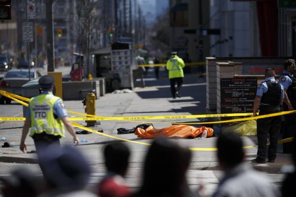 Atropelamento em Toronto, no Canadá, deixa ao menos nove mortos e 16 feridos