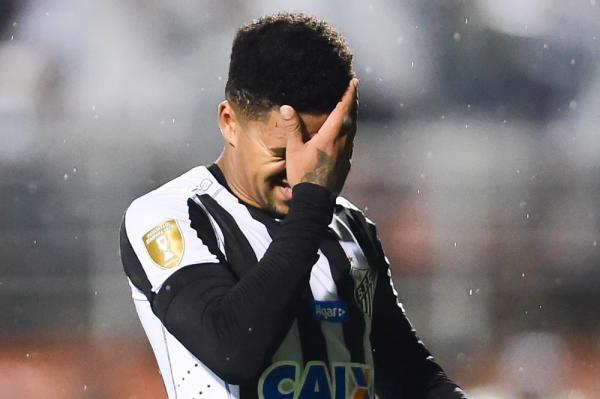 Diogo Vitor, do Santos, é flagrado em exame antidoping