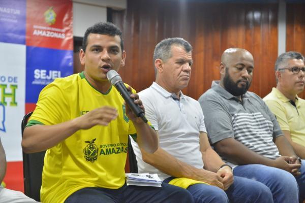 Seleção brasileira enfrenta a equipe amazonense na abertura do Supercampeonato de Beach Soccer, nesta terça-feira (1º)