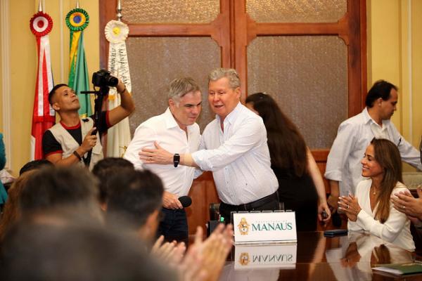 Arthur Neto ouve propostas de presidenciável do PRB, Flávio Rocha