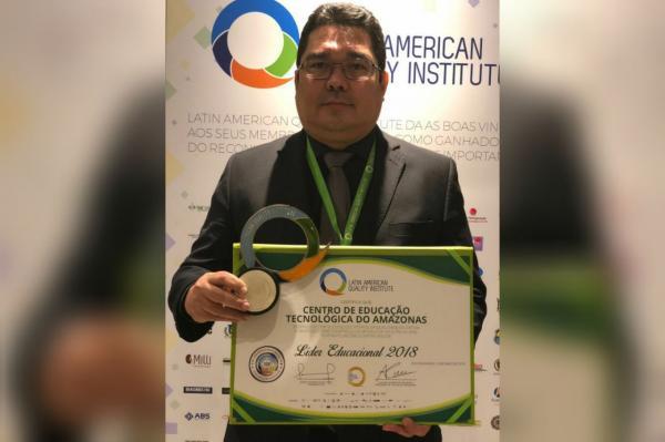 Cetam recebe prêmio por excelência na Educação Profissional no Rio de Janeiro