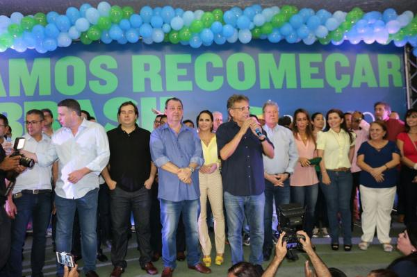 Lideranças políticas do AM participam de evento com Rodrigo Maia