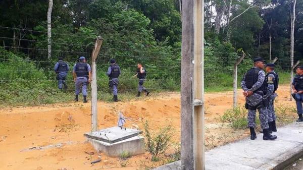 35 presidiários seguem foragidos em Manaus dois dias após fuga