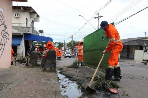 Ruas da Alvorada recebem mutirão de limpeza