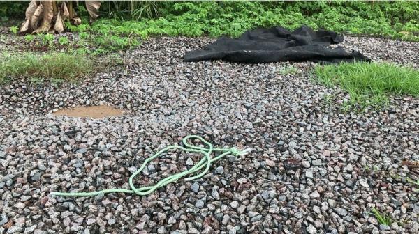 Homem com tornozeleira eletrônica é encontrado morto e com sinais de estrangulamento, em Manaus