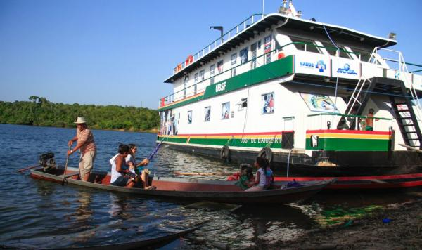 UBS Fluvial de Barreirinha vai atender  21 comunidades da Zona Rural