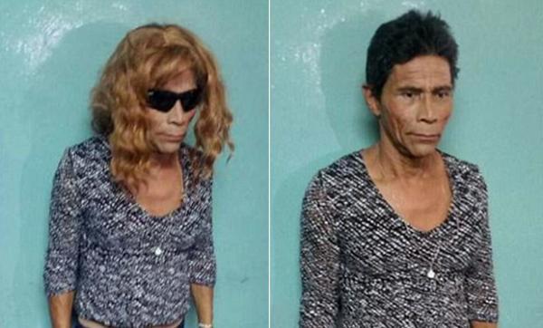 Homem tenta fugir do presídio vestido de 'Nazaré Tedesco' e é desmascarado