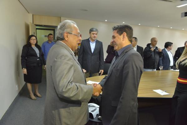 Amazonino abre agenda positiva com o ministro do Meio Ambiente, Edson Duarte