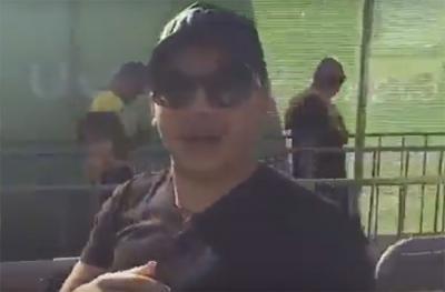 Wesley Safadão flagrado em fila das Olimpíadas