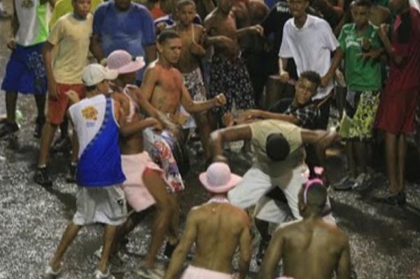 Carnaval Banda no Via Norte termina em tiro, porrada e bomba