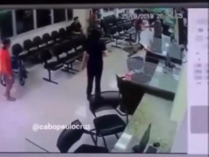 Homem é executado a tiros dentro do Hospital Santa Júlia, em Manaus.