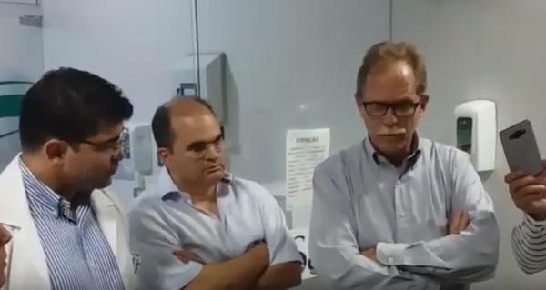 Médicos falam sobre situação do deputado Sabino