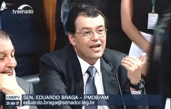 Braga sai em defesa dos empresários em audiência para examinar a MP 757/2016