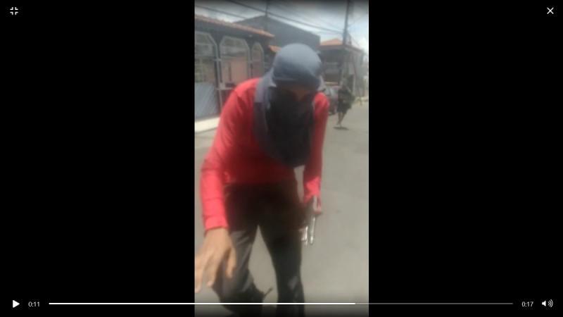 Vídeo: Pistoleiros gravam execução no bairro Santa Luzia, em Manaus
